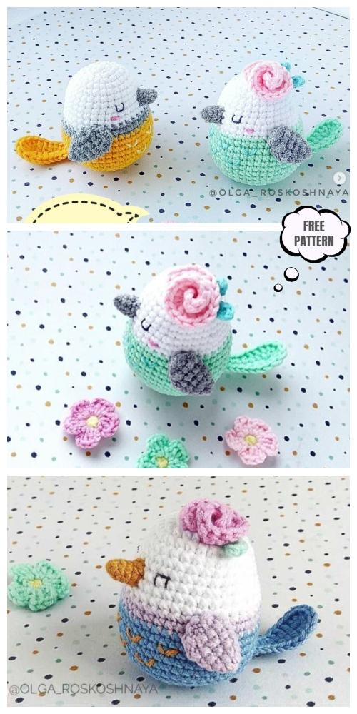 Amigurumi Bird Free Crochet Pattern - Amigurumi Free Patterns | 1000x500