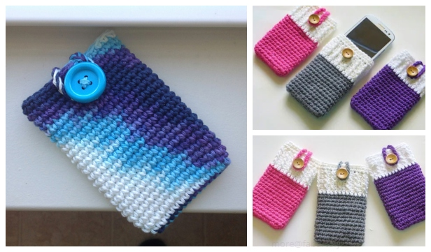 Easy Crochet Mobile Phone Case Free Crochet Patterns Video