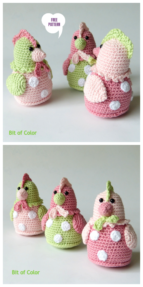 The Traveling Tu Family ~ Free Easter Crochet Pattern! ⋆ Melody's ... | 1000x500