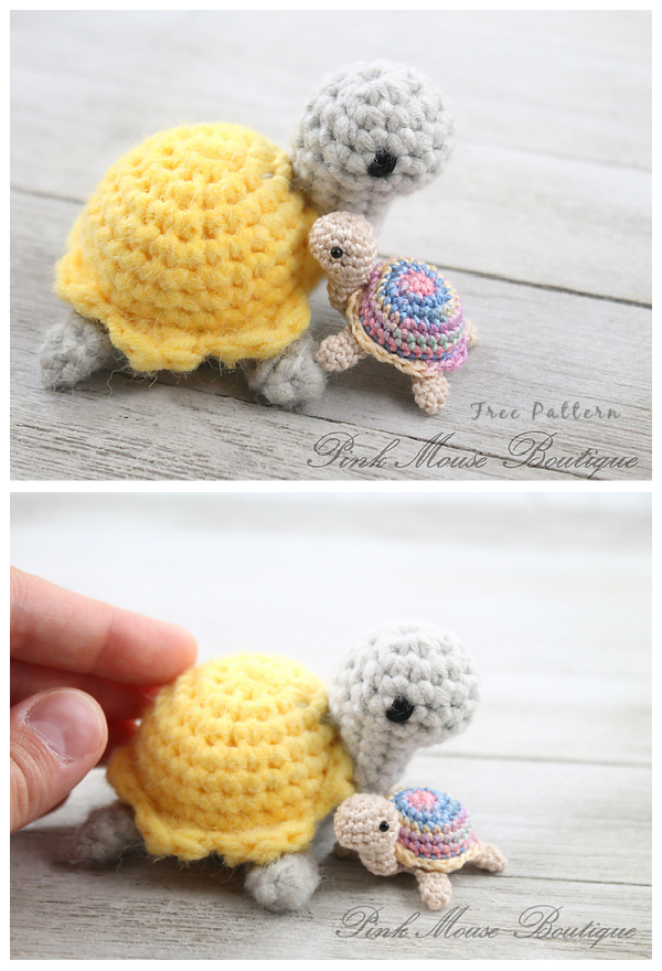 Crochet Little Miss Turtle Amigurumi Free Patterns