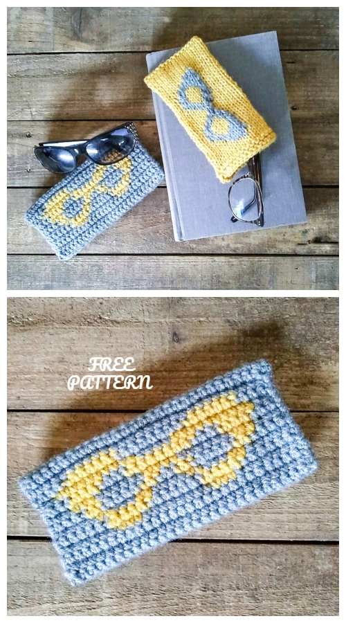 Crochet Fun Sunglasses Case Free Crochet Patterns