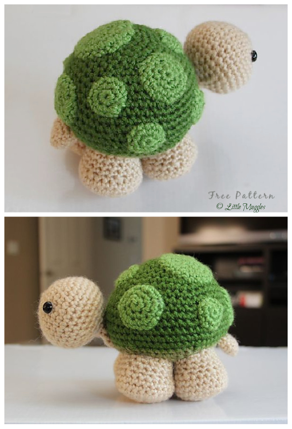 Crochet Sheldon Turtle Amigurumi Free Patterns
