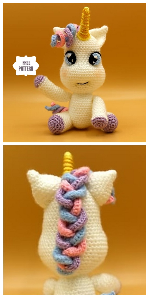 15 easy DIY knitting ideas - Page 10 of 16 | Crochet unicorn ... | 1000x500