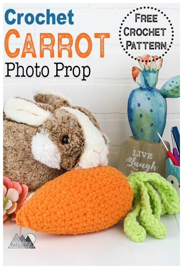 Easter Carrot Photo Prop Free Crochet Patterns
