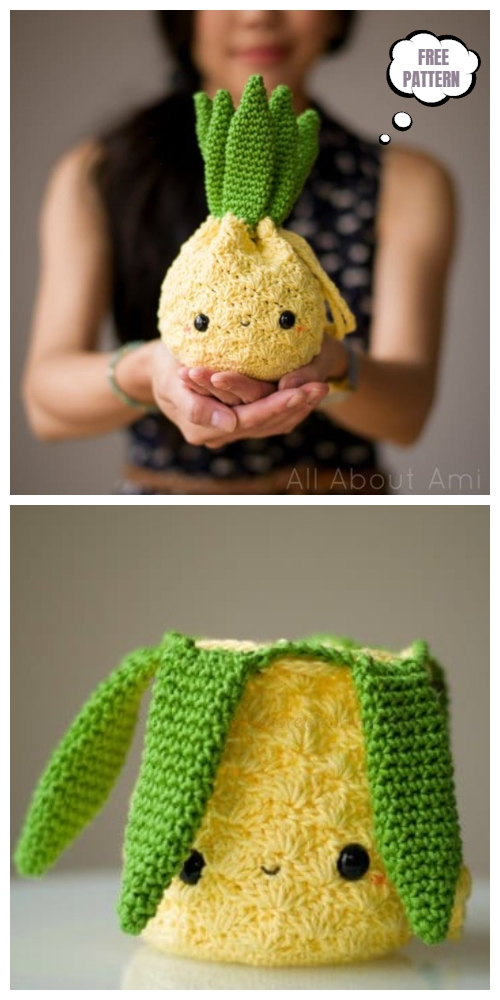 Amigurumi Pineapple Purse Free Crochet Patterns