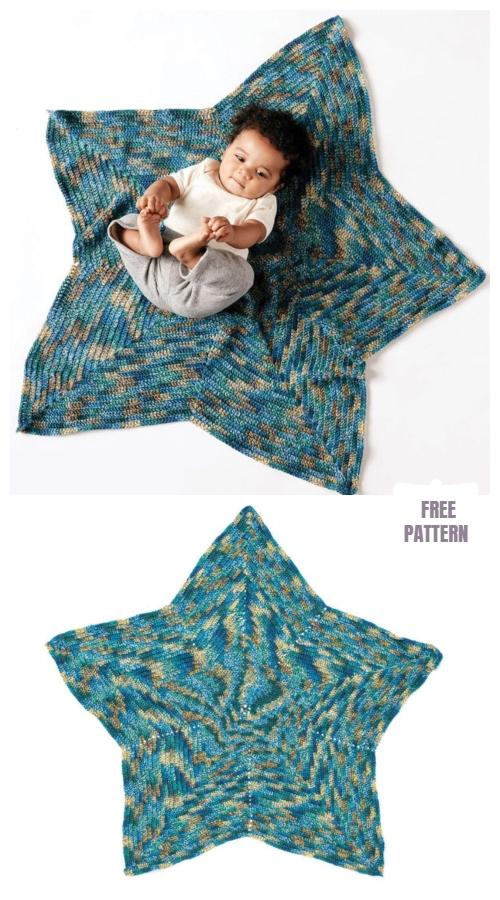 Crochet Starlight Baby Blanket Free Crochet Pattern