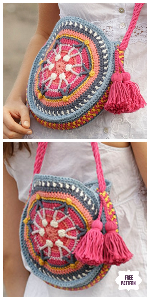 Crochet Summer Treasure Bag Free Crochet Pattern