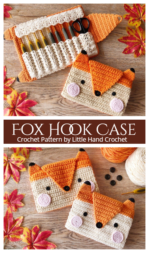 Fox Hook Case Crochet Pattern