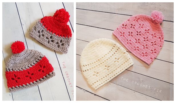 Vintage Vibes Beanie Hat Free Crochet Patterns