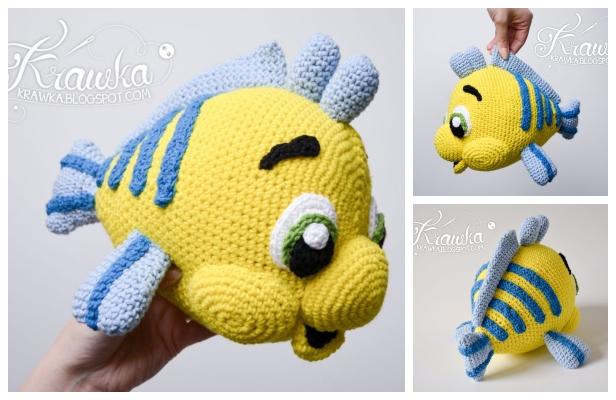 Amigurumi Fish Free Crochet Patterns | 400x616