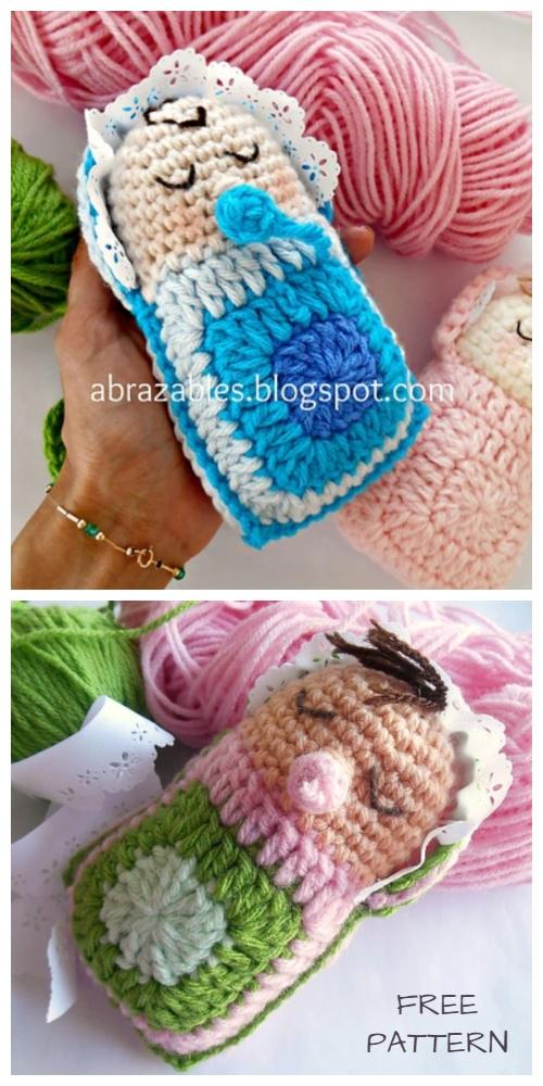 Crochet Granny Baby Doll Amigurumi Free Pattern