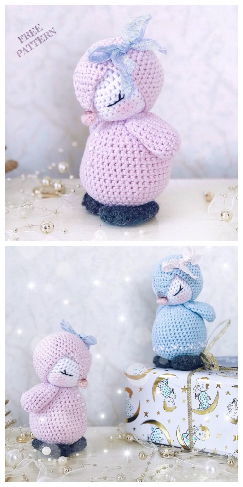 Crochet Penguin Amigurumi Free Patterns