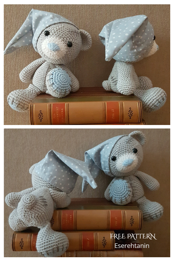 Crochet Bedbug Teddy Bear Amigurumi Free Patterns