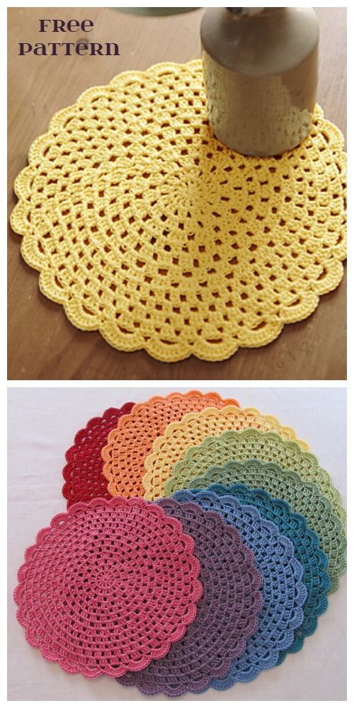 Easy Lace Doily Free Crochet Pattern