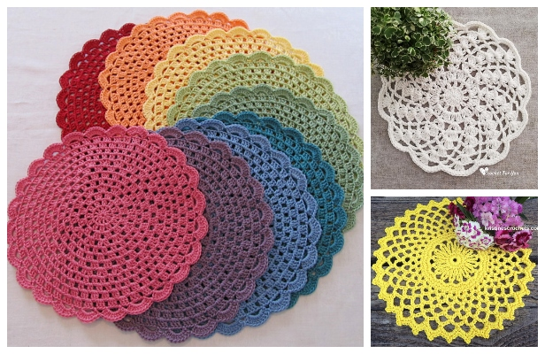 Easy Lace Doily Free Crochet Patterns