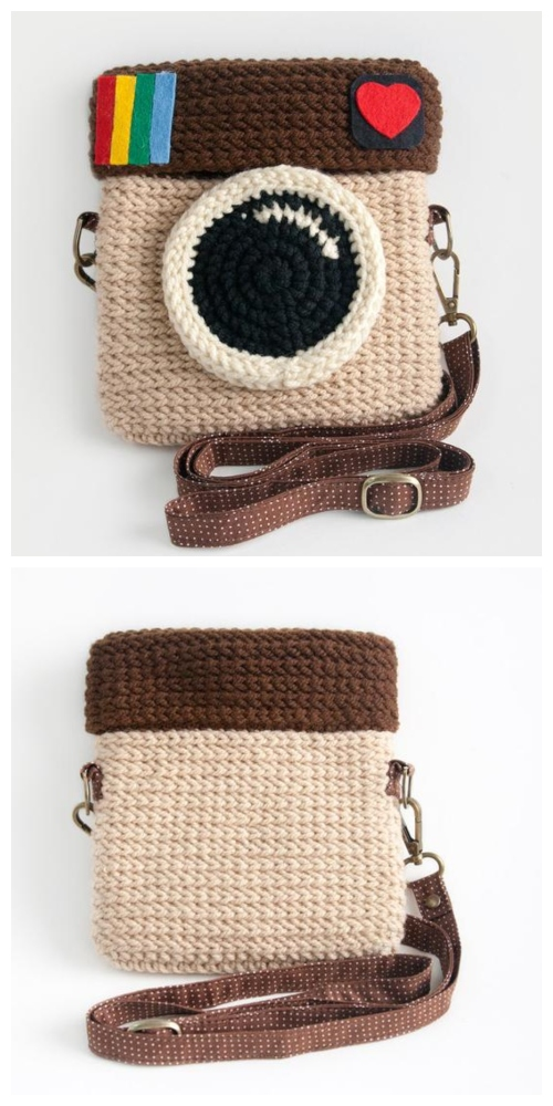 Crochet Instagram Camera Bag Purchase
