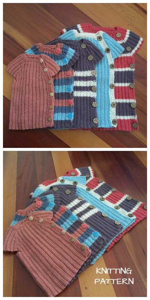 Knit Snuggles Baby Vest Knitting Pattern
