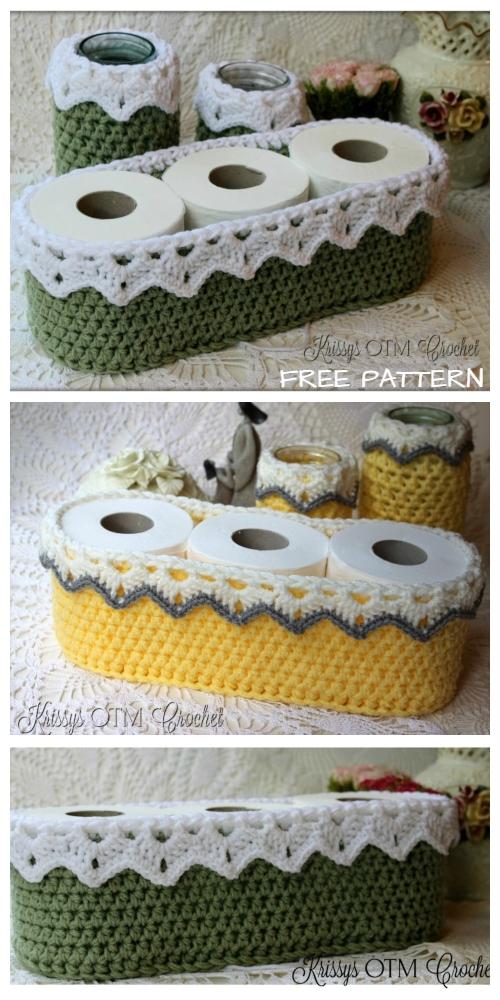 Crochet Victorian Basket Free Crochet Pattern