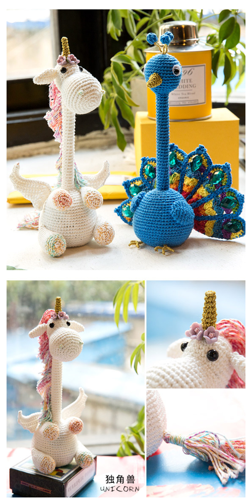Crochet Unicorn Pen Amigurumi Free Pattern