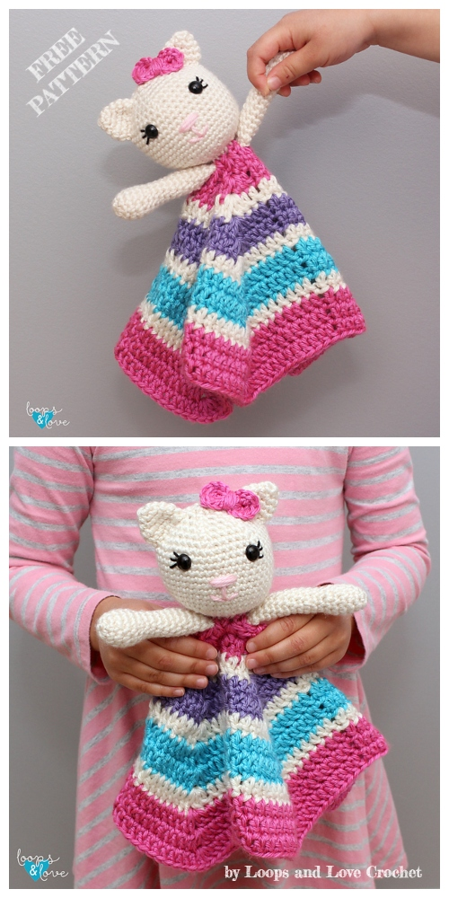 Amigurumi Kitty Lovey Cat Free Crochet Patterns