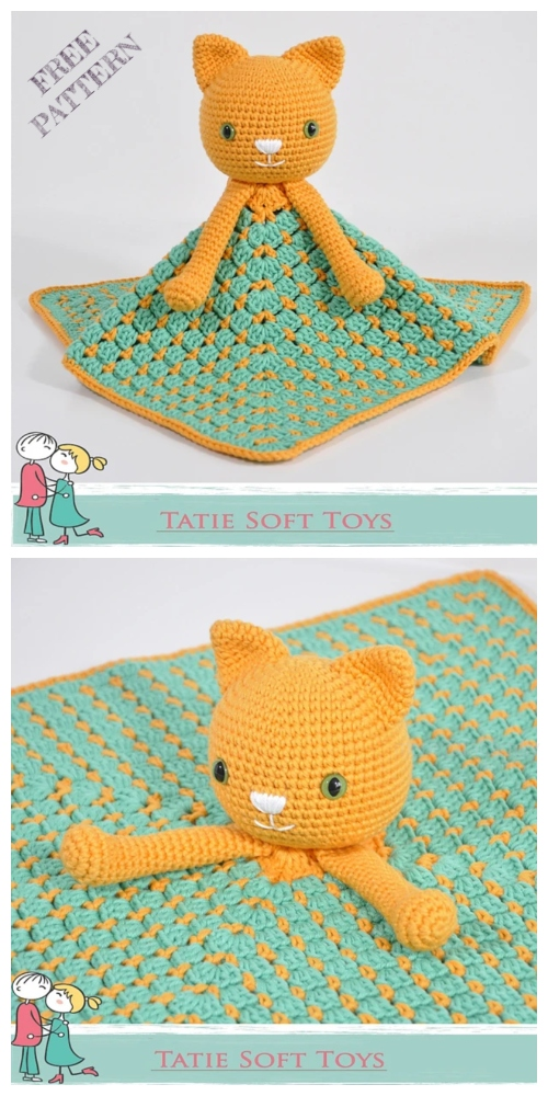 Amigurumi Kitty Lovey Free Crochet Patterns