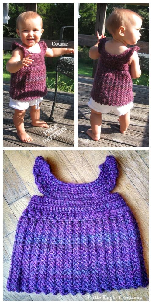 Crochet Sophia Baby Tunic Top Free Crochet Pattern