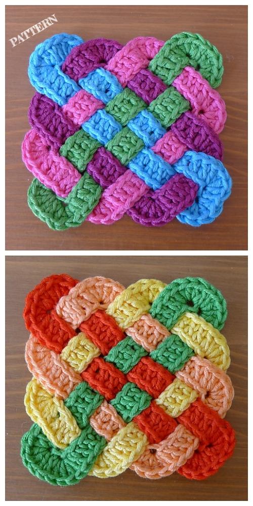 Crochet Celtic Knot Square Free Pattern