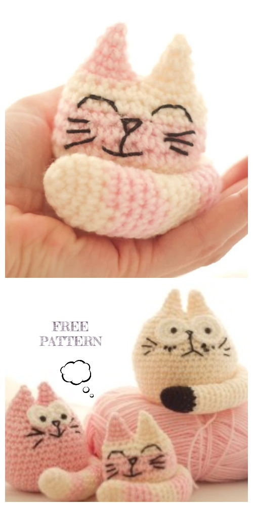 Crochet Fat Cat Amigurumi Free Patterns