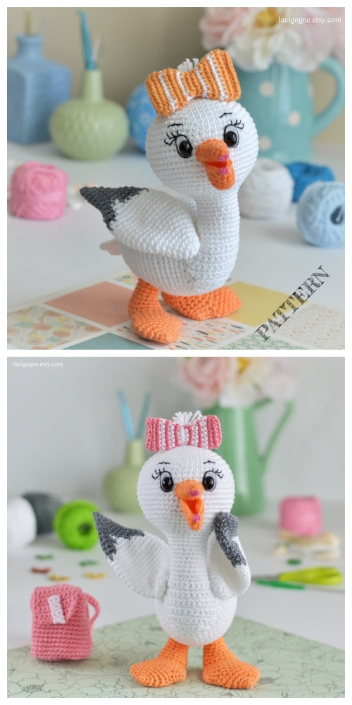 Top 3 Crochet Bird Amigurumi Patterns - Popular Crafts | 1000x500
