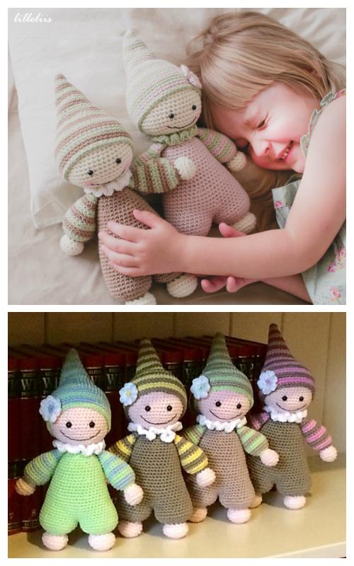Crochet Cuddly Baby Baby Doll Amigurumi Pattern