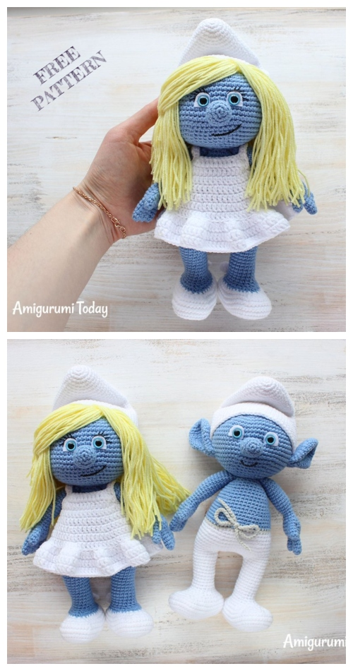 Crochet Smurf Amigurumi Free Patterns