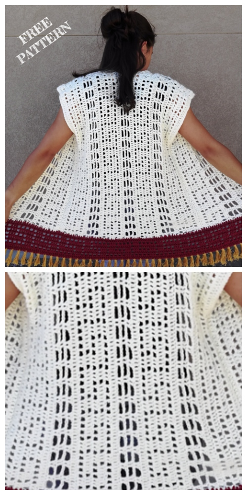 Crochet The Augustus Summer Shrug Cardigan Free Crochet Patterns