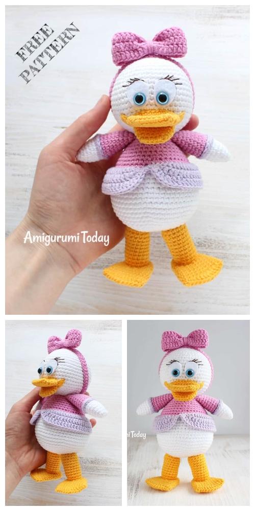 Crochet Webby Duck Amigurumi Free Pattern