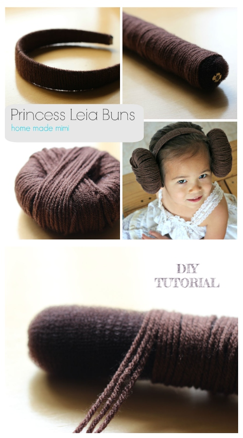 DIY Princess Leia Wig Bun Tutorials