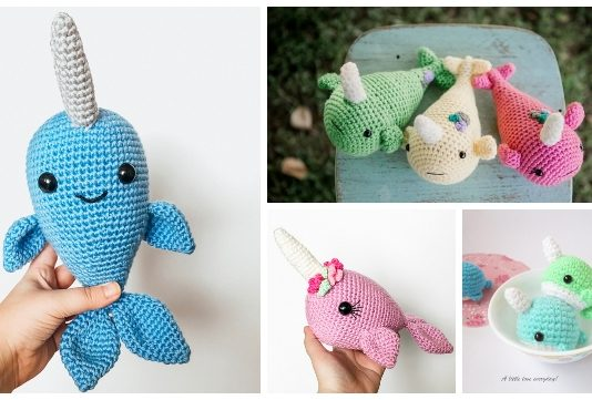 Ravelry: Narwhal Amigurumi pattern by Vi Le | 361x534