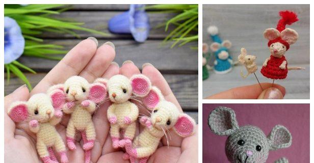 Free Mini Mouse Crochet Patterns | 320x616