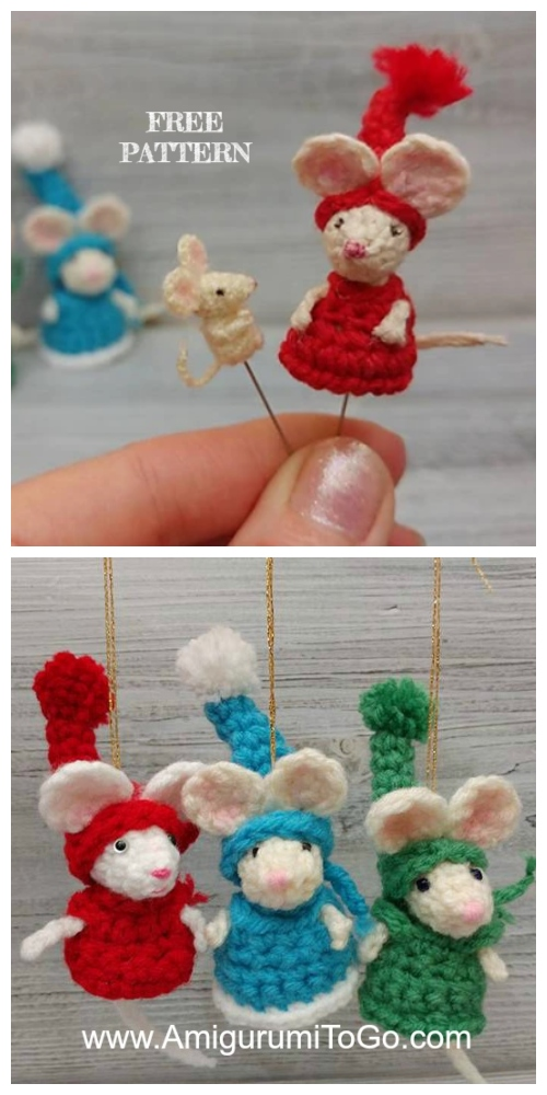 Crochet Moris the Mouse Amigurumi Free Patterns