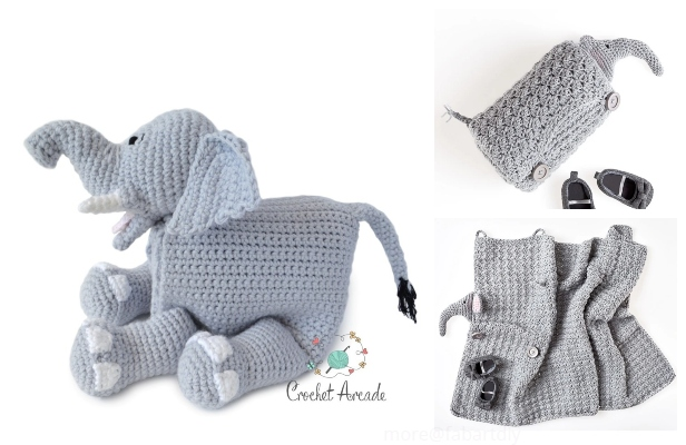 The Sweetest Crochet Elephant Patterns To Try | Crochet elephant pattern, Crochet  elephant, Crochet amigurumi free patterns | 400x616
