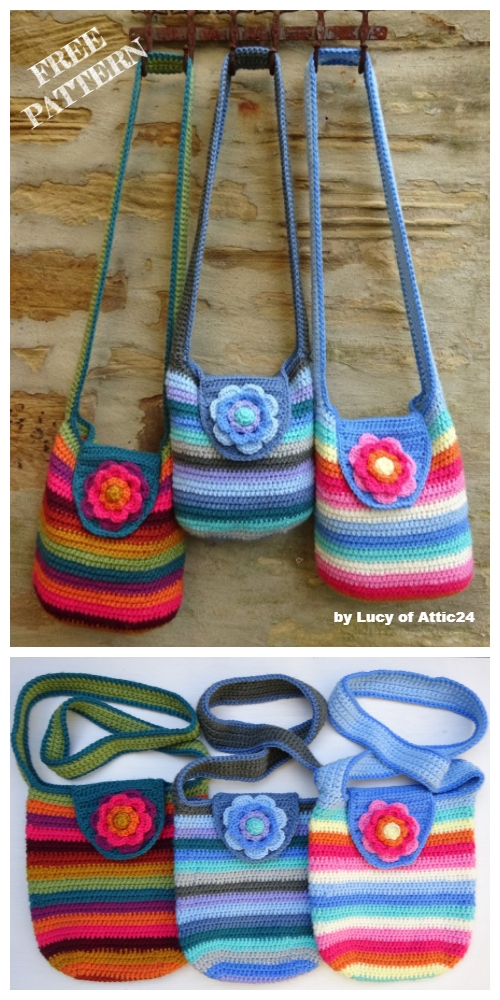 Weekend Bag Free Crochet Patterns