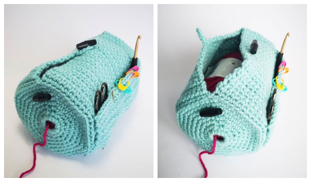 The Yarn Buddy Bag Free Crochet Pattern & Paid