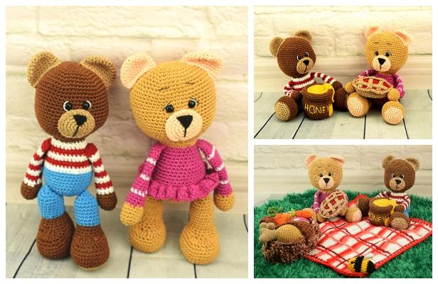 Teddy Bear Amigurumi, Amigurumi Recipe #amigurumi-#amigurumi #Bear ... | 400x616