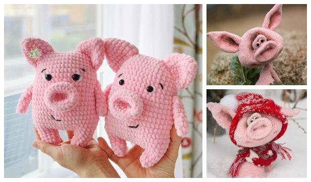 Crochet Animals Little Piggy Amigurumi Tutorial - Part 1 - Craft ... | 361x616