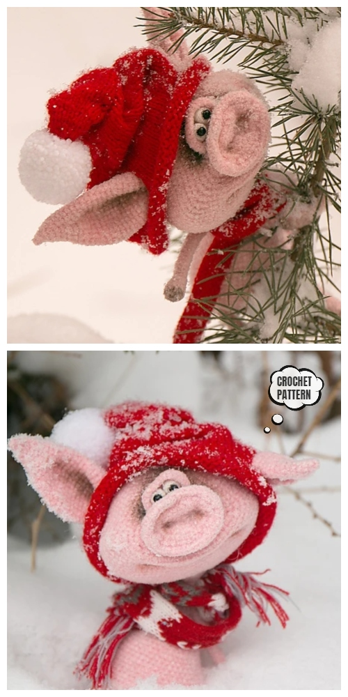 Crochet Big Snout Fima the Pig Amigurumi Pattern