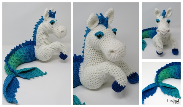 White horse amigurumi | Pattern is from kristieskids in Etsy… | Flickr | 361x616