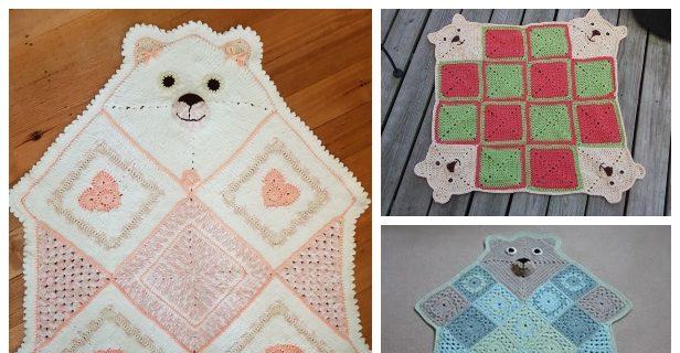 PATTERN, Teddy Bear Applique PDF Crochet Pattern Applique Crochet ...   320x616