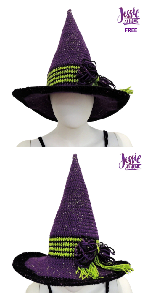 Halloween That Witch Hat Free Crochet Patterns