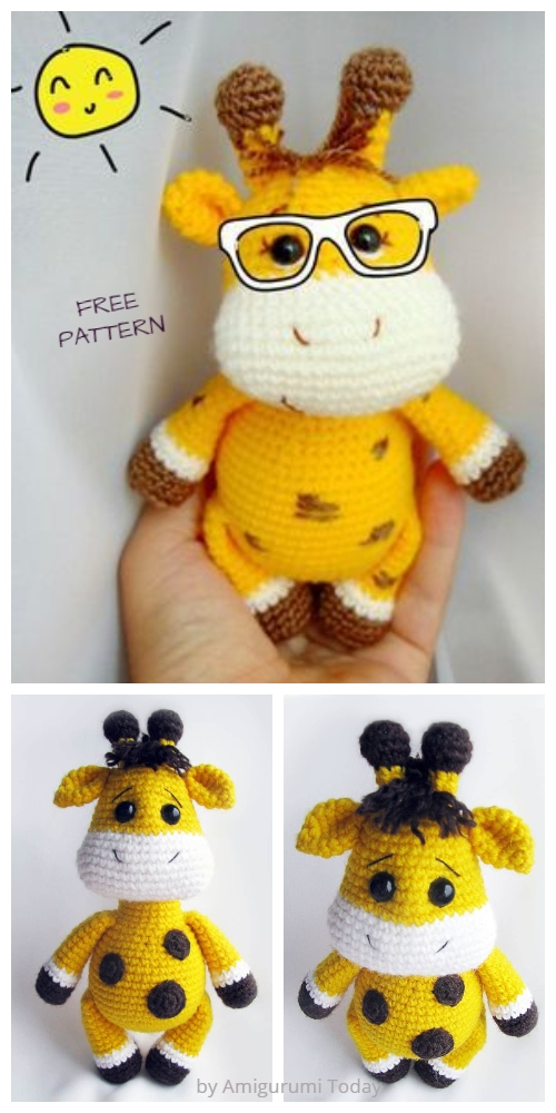 Crochet Baby Giraffe Amigurumi Free Patterns
