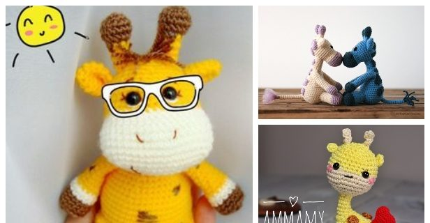 Baby giraffe crochet pattern - Amigurumi Today | 320x616