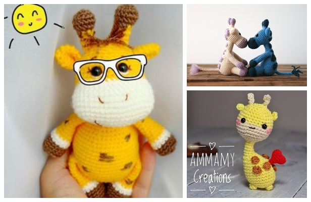 Ravelry: Baby Giraffe Amigurumi pattern by Courtney Deley | 400x616