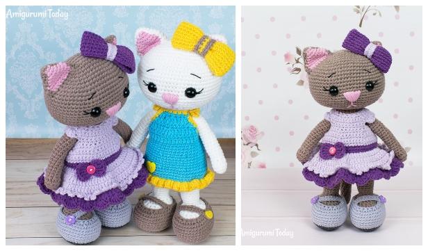 Crochet Cat Doll Amigurumi Free Patterns